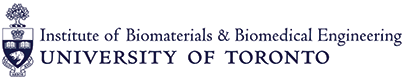 Institute of Biomaterials and Biomedical Engineering, University of Toronto logo